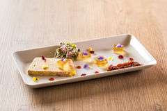 Terrine of foie gras Royalty Free Stock Photography