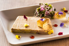 Terrine of foie gras Royalty Free Stock Photo