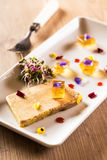 Terrine of foie gras Royalty Free Stock Image