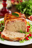 Terrine of meat Stock Photos