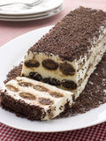Terrine of Tiramisu Stock Images