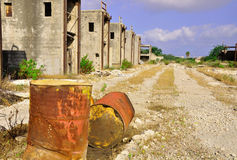 Território abandonado. Foto de Stock Royalty Free
