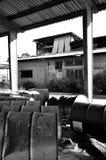 Território abandonado. Fotografia de Stock