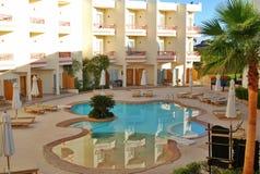 Território do hotel de Hilton Sharks Bay Imagem de Stock