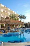 Território do hotel de Hilton Sharks Bay Foto de Stock Royalty Free