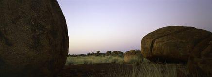 Território do Norte dos mármores dos diabos Fotos de Stock Royalty Free