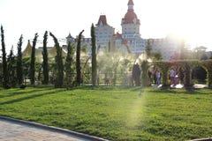 Território do parque de Sochi Imagem de Stock