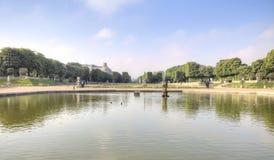 Território do parque do palácio de Luxemburgo Imagem de Stock