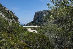 Territ?rio interno de Sardinia foto de stock royalty free