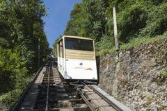 """Territet†""""Glion funicular, Suiza Imágenes de archivo libres de regalías"""