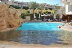 Territoire d'hôtel de Hilton Sharks Bay Image libre de droits
