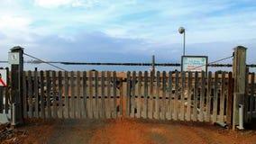 Territoire de production de sel Photos libres de droits
