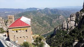 Territoire monastry de Moncerrat Photographie stock