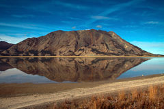 Territoires de lac Kluane, le Yukon Images stock