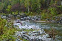 Territorio de Primorski, área de Ternejsky, río Kema. fotos de archivo libres de regalías