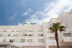 Territorio del hotel Fotografía de archivo