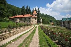 Territorio del monasterio ortodoxo Fotos de archivo