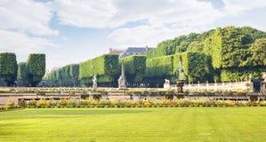 Territorio del parco del palazzo del Lussemburgo Immagine Stock