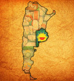 Territorio di regione di Buenos Aires Immagine Stock Libera da Diritti