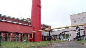 Territorio interno della stazione di calore archivi video