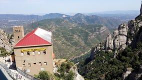 Territorio monastry di Moncerrat Fotografia Stock