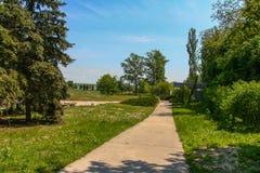 Territorium av minnesmärken - den allvarliga Taras Shevchenko Royaltyfri Bild