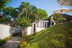 Territory of beautiful villa Royalty Free Stock Image