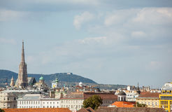 Territory of Belvedere Palace Royalty Free Stock Photography