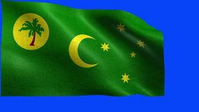 Territory of the Cocos Islands, Flag of Cocos Islands - LOOP Stock Images