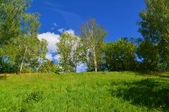 Territory of Eco Shore Park in Khimki, Russia Stock Image