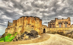 On the territory of Edinburgh Castle Royalty Free Stock Images