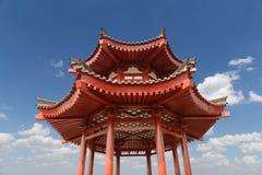 On the territory Giant Wild Goose Pagoda or Big Wild Goose Pagoda, Xian royalty free stock photography