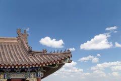 On the territory Giant Wild Goose Pagoda or Big Wild Goose Pagoda, Xian Royalty Free Stock Image