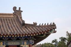 On the territory Giant Wild Goose Pagoda or Big Wild Goose Pagoda, Xian Stock Photos