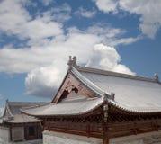 On the territory Giant Wild Goose Pagoda, Xian Stock Photo