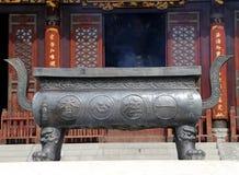 On the territory Giant Wild Goose Pagoda, Xian (Sian, Xi'an), China Stock Photography