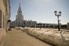 The territory of Kazan Kremlin Stock Photo
