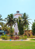 The territory of the lighthouse in Goa, India. Stock Images