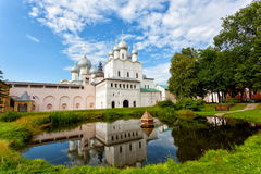 Territory of the Rostov Kremlin Royalty Free Stock Photography
