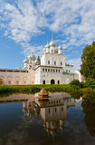 Territory of the Rostov Kremlin Stock Photo