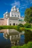 Territory of the Rostov Kremlin Royalty Free Stock Images