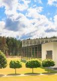 The territory of the sanatorium.  Druskininkai, Lithuania Royalty Free Stock Image