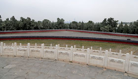 On the territory of the Temple of Heaven ), Beijing, China Royalty Free Stock Image