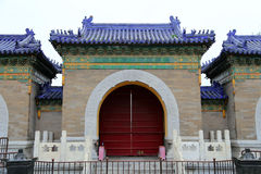 On the territory of the Temple of Heaven ), Beijing, China Stock Photography