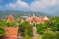 Territory of The Wat Chalong Temple Stock Photography