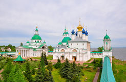 Territory Yakovlev monastery in Rostov. Russia Stock Images