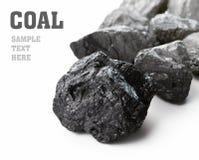 Terrones del carbón fotografía de archivo libre de regalías