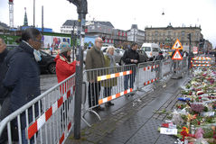 TERROR IN ANGRIFF GENOMMEN IN PARIS_COPENHAGEN DÄNEMARK Stockbilder