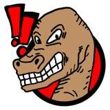 Terror animal icon Royalty Free Stock Photos