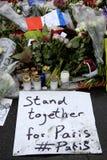 TERROR ATAKUJĄCY W PARIS_COPENHAGEN DANI Obrazy Stock